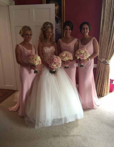 Blush Bridal Bridemaids Gally